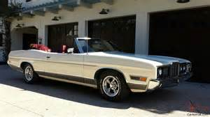 1972 Ford Ltd Convertible 1972 Ford Ltd Covertible W Hotrod Engine