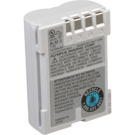 Baterai Olympus Blm 1 Blm 1 olympus blm 5 lithium ion rechargeable battery 1620mah 260340