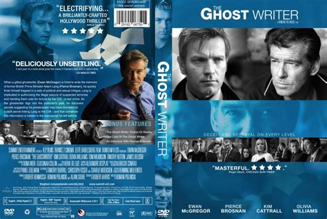 The Ghost Writer Raydvd Combo ghost writer dvd custom covers the ghost writer dvd covers