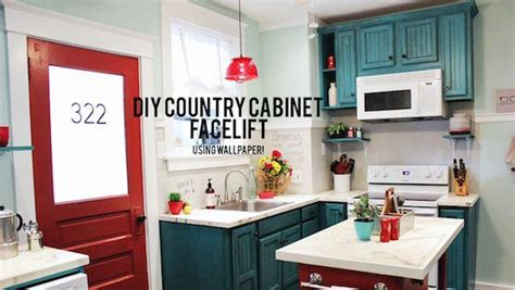 Resurfacing Kitchen Cabinets Diy by Diy Cabinet Refacing Knock It Off The Live Well Network