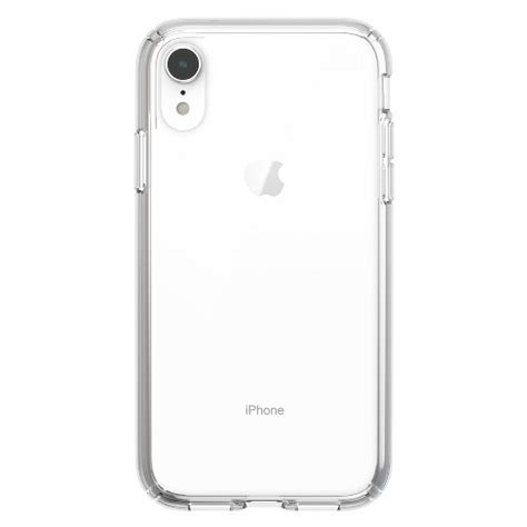 speck apple iphone xr presidio case clear target