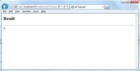 tutorialspoint jsf jsf h selectoneradio