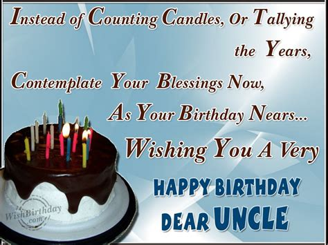Birthday Wishes Return Quotes Happy Returns Of The Day To A Dear Uncle Wishbirthday Com