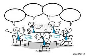 comic tisch quot business team gruppe am tisch quot stockfotos und