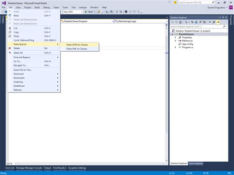 format json file visual studio visual studio format json string phpsourcecode net