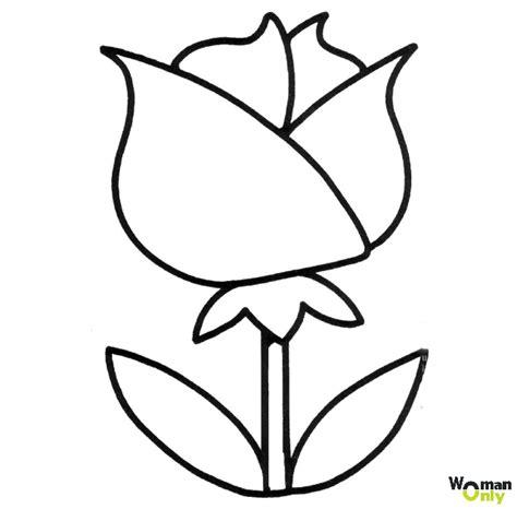 imagenes en blanco para colorear de flores dibujos de flores para colorear e imprimir gratis