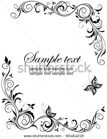 Wedding Scroll Border by Scroll Clip Borders Free Vintage Wedding Design