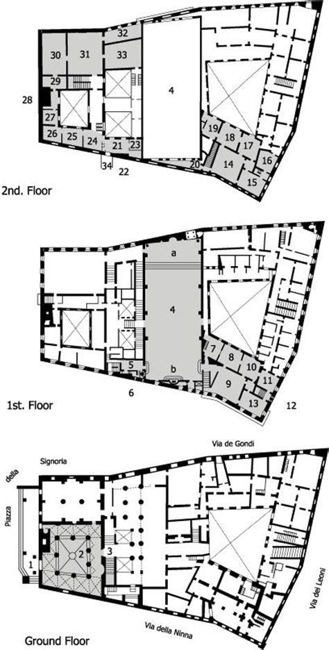 palazzo floor plan palazzo vecchio florence plans mc italian renaissance