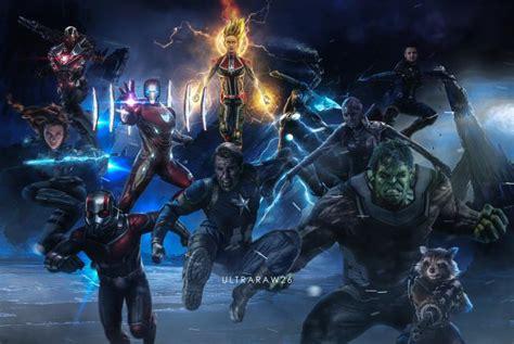 avengers endgame  ultraraw hd wallpaper
