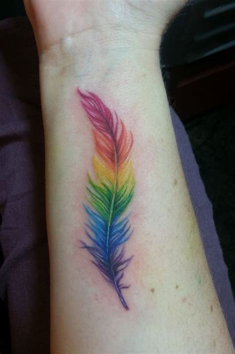 rainbow baby tattoos 125 explicitly colorful rainbow designs you must