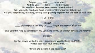 stunning simple wedding ceremony script ideas diy