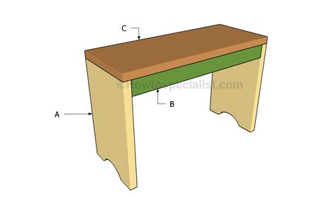 easy bench plans how to build a simple bench howtospecialist how to