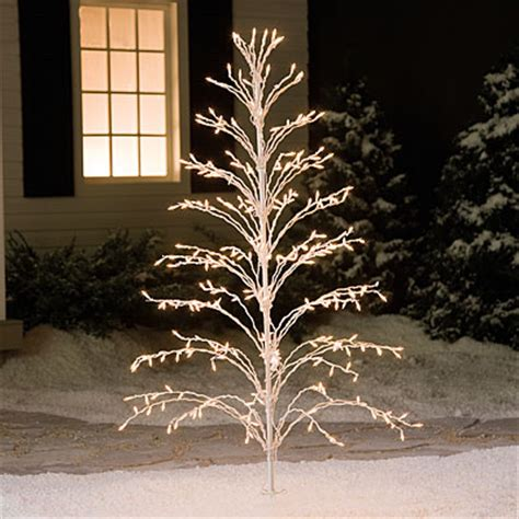 stick christmas trees with lights 6 cascade stick tree big lots
