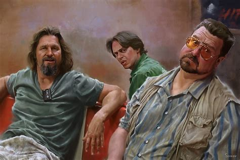 Big Dude the big lebowski posters redbubble