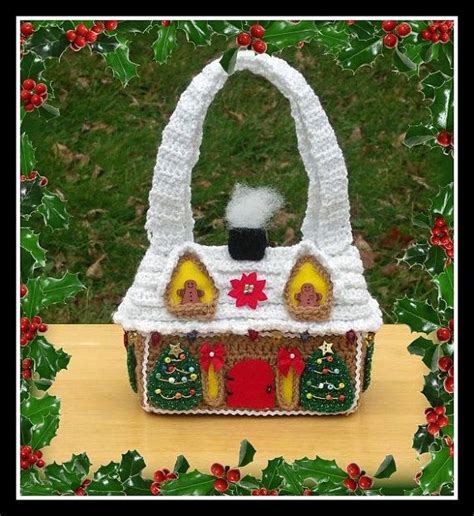 gingerbread christmas tree pattern gingerbread house purse crochet pattern this is not a flat