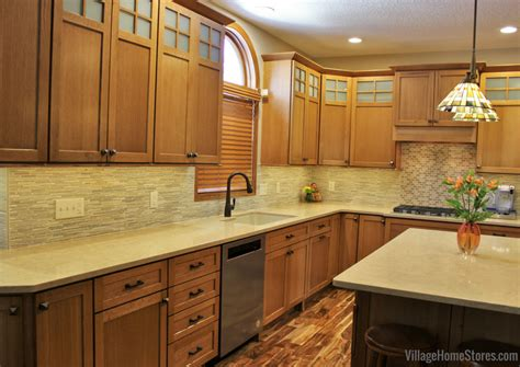 bettendorf iowa craftsman style quartersawn oak kitchen