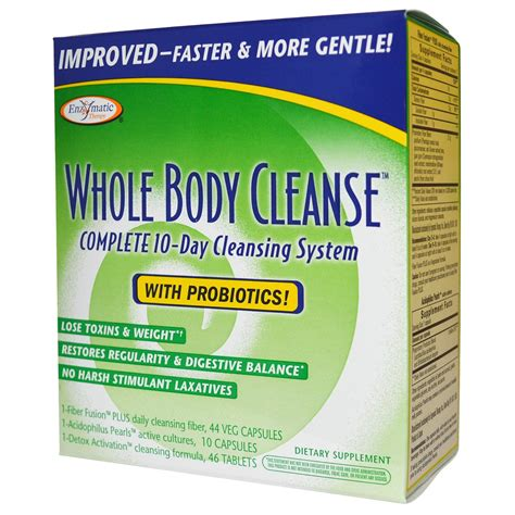 Cleansing Detox For The by Enzymatic Therapy Whole Cleanse Complete 10 Day