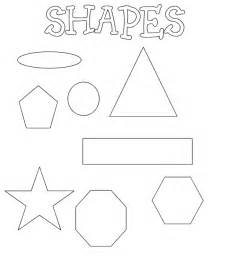 shape coloring pages free coloring pages of shapes house