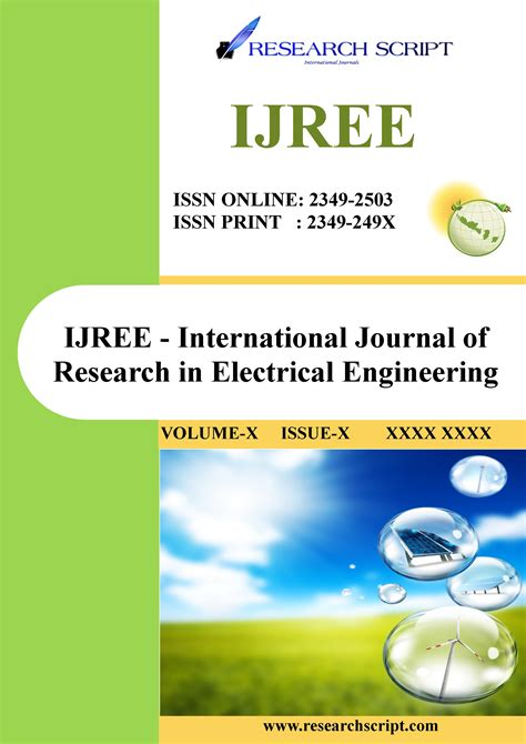 research paper about electrical engineering ijree research script international journals ijre ijree