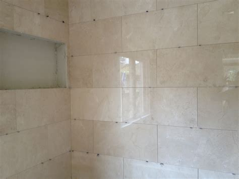 large shower bath tile glorius tile plus a hardwood floor update nathendoblog