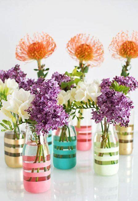decorar botellas y tarros de cristal manualidades con tarros de cristal 14 ideas para