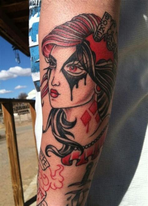 harley quinn pin up tattoo wesharepics