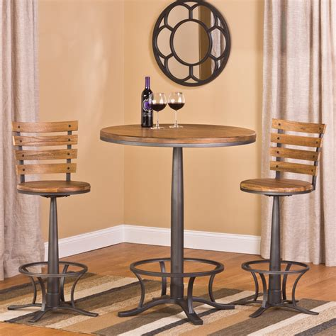 bistro table set indoor westview bar height 3 bistro set contemporary