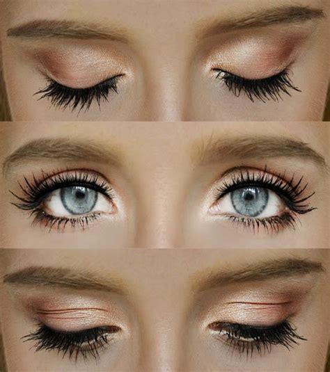 makeup tutorial natural look peachy brown weekly wedding inspiration 15 fresh natural wedding
