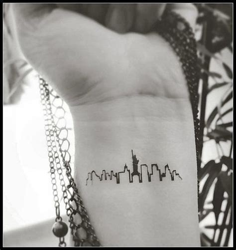 nyc henna tattoo new york skyline temporary tattoos tattoos new