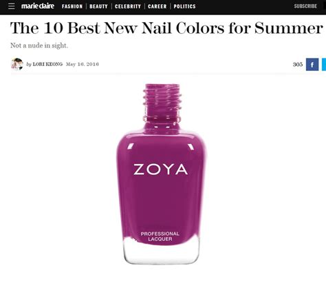 best zoya colors best new nail colors for summer zoya