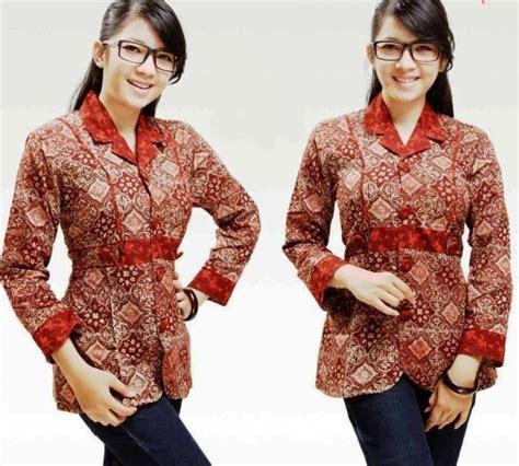 Baju Lengan Panjang Anak Muda 20 model baju batik anak muda modis elegantria