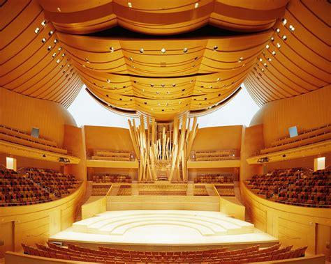 Interior Design Concert by Ad Classics Walt Disney Concert Frank Gehry