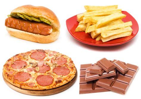 confirmado alimentos altamente procesados como el chocolate pizza  patatas fritas entre los