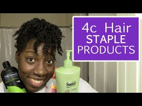 Hair Products For Type 4c Hair by 4c Hair Staple Products