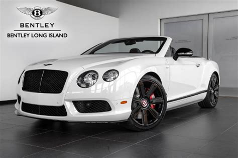 bentley white and black 2015 bentley continental gt v8 s convertible concours
