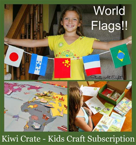 craft subscription for kiwi crate craft subscription startsateight