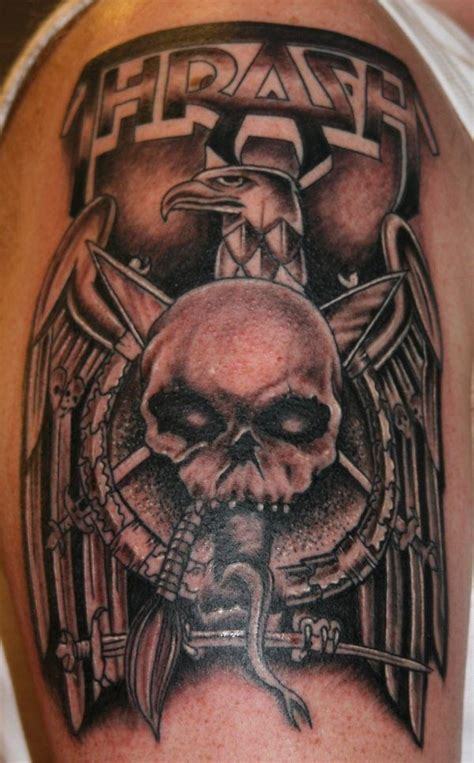 132 best images about rock metal tattoos on