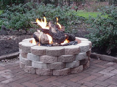 steel pit logs fireplace design ideas