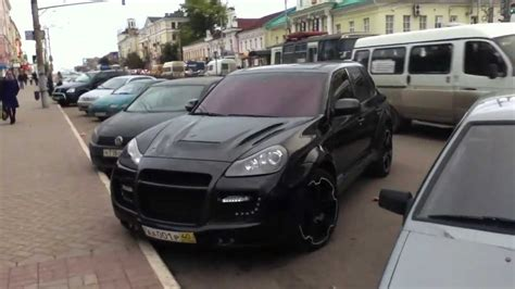 Porsche Cayenne Tuning by Porsche Cayenne Turbo Tuning Youtube