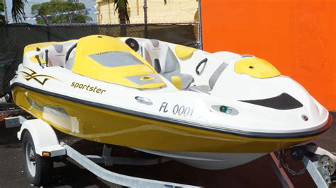 small sea doo boat sea doo sportster 2006 for sale for 8 250 boats from