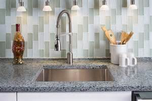 recycled glass backsplashes for kitchens message in a bottle vetrazzo the original recycled
