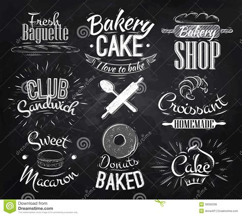 Kitchen Tea Cake Ideas bakery characters chalk stock vector image of seal