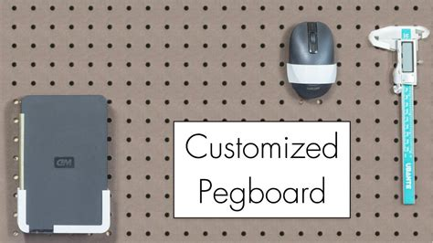 Custom 3d Print 4 pegboard anything custom 3d printed hangers using photogrammetry scanning and fusion 360