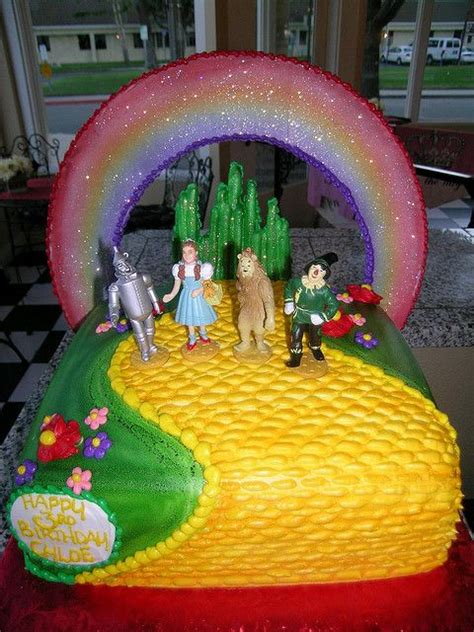 231 best images about wizard of oz cakes on