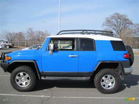 blue toyota fj cruiser 2007 voodoo blue toyota fj cruiser 4wd 77069291