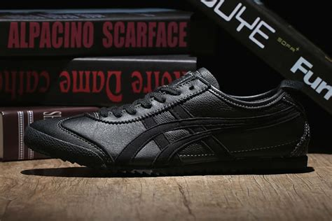 Onitsuka Tiger Mexico 66 Deluxe Black all black onitsuka tiger mexico 66 deluxe shoes th9j4l 9095 onitsuka tiger