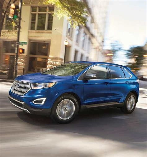 ford edge crossover 2018 ford 174 edge crossover suv photos colours