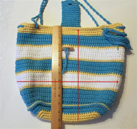 tutorial tote bag with lining tutorial how to line a crocheted bag pattern paradise