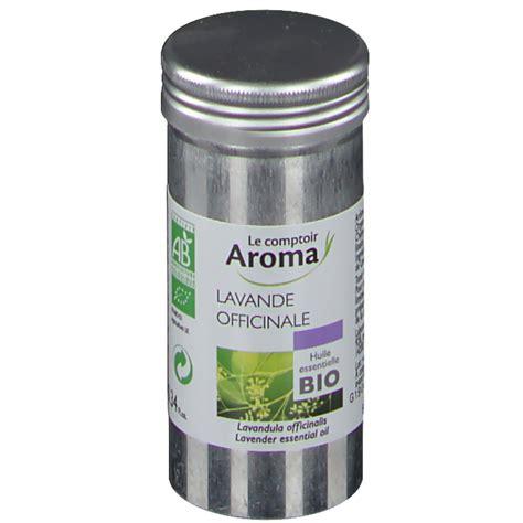 le comptoir aroma le comptoir aroma huile essentielle bio lavande officinale