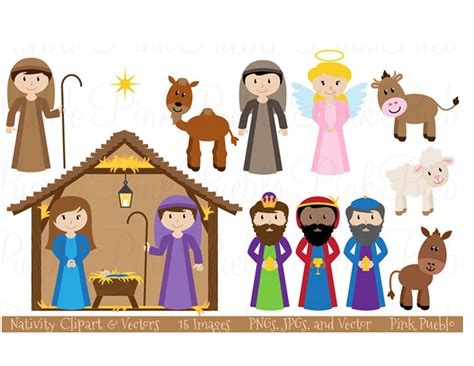 printable nativity scene cutouts nativity scene nativity printable merry christmas